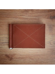Futlers Money Clip Brick Brown